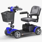 4-Rad-Mobilitätsroller 3d model