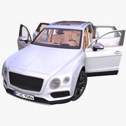 VUS de luxe générique 3d model