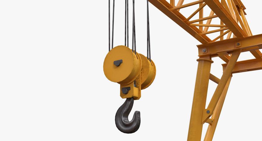 Truss Gantry Crane royalty-free 3d model - Preview no. 11