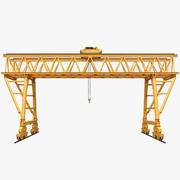 Truss Gantry Crane 3d model