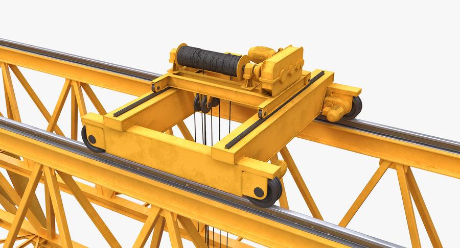 Truss Gantry Crane royalty-free 3d model - Preview no. 12