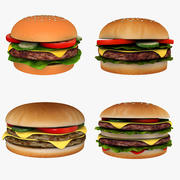 Burgers Collection 3d model