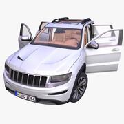 Generisk amerikansk SUV 3d model
