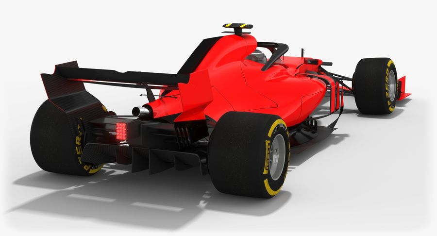 Formula 1 F1 2019 Concept royalty-free 3d model - Preview no. 4