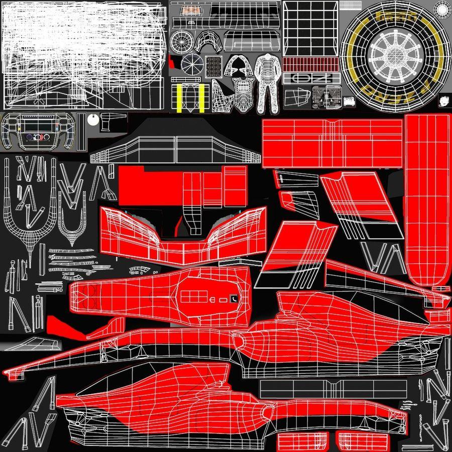 Formula 1 F1 2019 Concept royalty-free 3d model - Preview no. 27