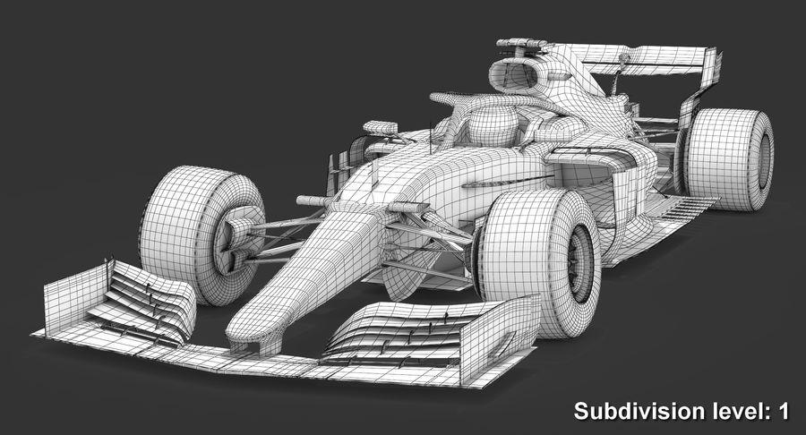 Formula 1 F1 2019 Concept royalty-free 3d model - Preview no. 12