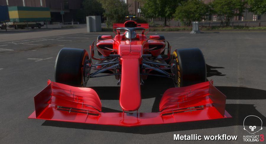 Formula 1 F1 2019 Concept royalty-free 3d model - Preview no. 23