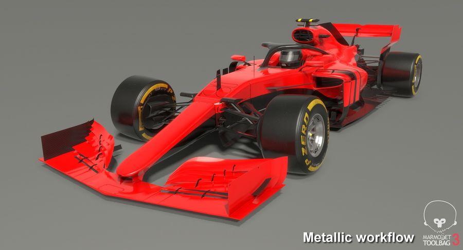 Formula 1 F1 2019 Concept royalty-free 3d model - Preview no. 17