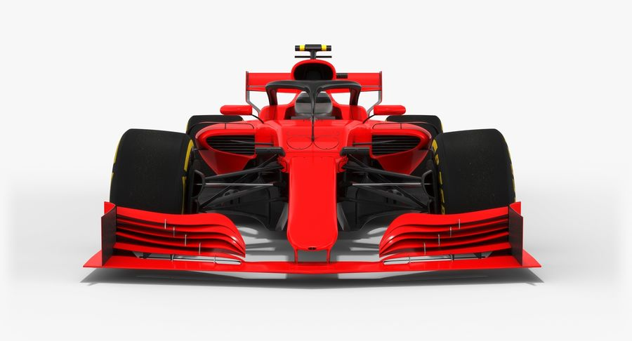 Formula 1 F1 2019 Concept royalty-free 3d model - Preview no. 9