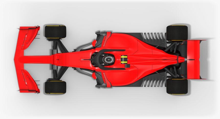 Formula 1 F1 2019 Concept royalty-free 3d model - Preview no. 8