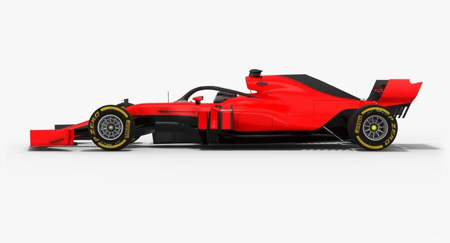 Formula 1 F1 2019 Concept royalty-free 3d model - Preview no. 7