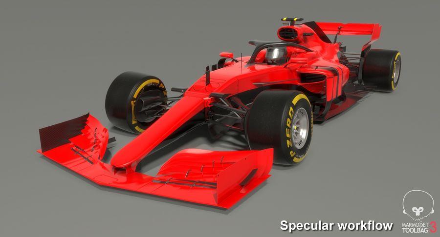 Formula 1 F1 2019 Concept royalty-free 3d model - Preview no. 18