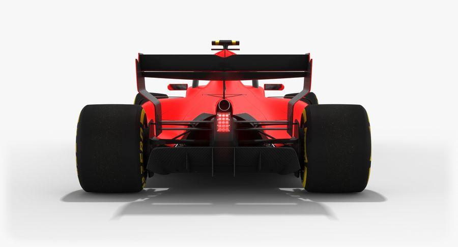 Formula 1 F1 2019 Concept royalty-free 3d model - Preview no. 10