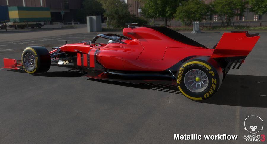 Formula 1 F1 2019 Concept royalty-free 3d model - Preview no. 22