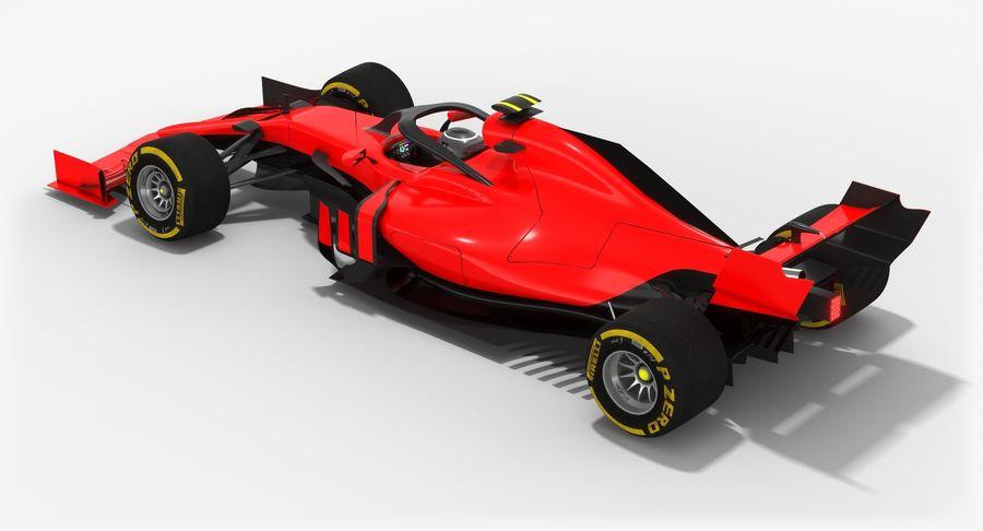 Formula 1 F1 2019 Concept royalty-free 3d model - Preview no. 6