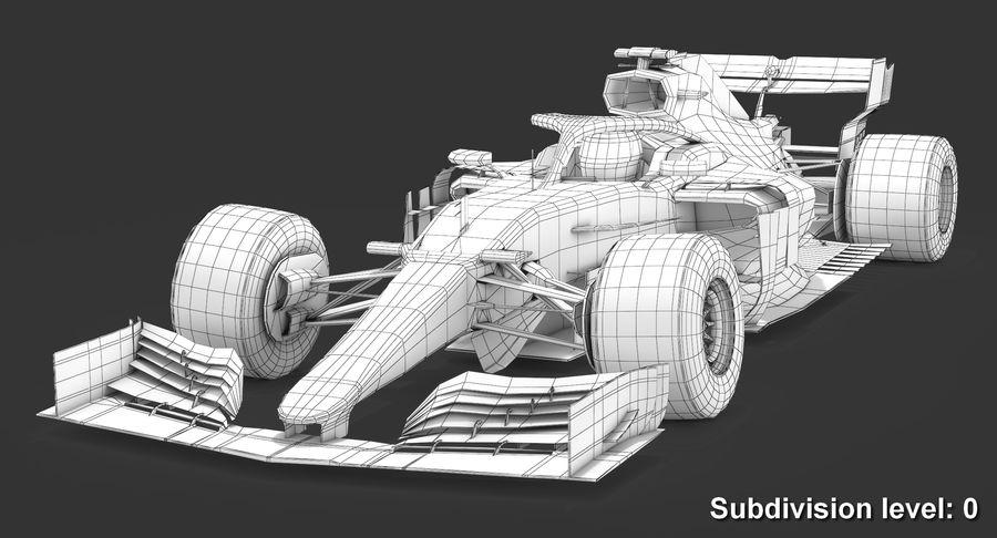 Formula 1 F1 2019 Concept royalty-free 3d model - Preview no. 11