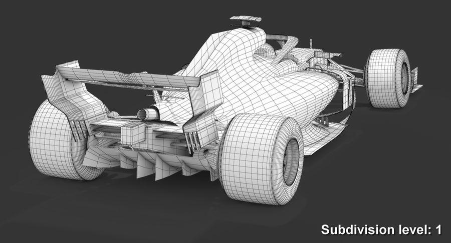 Formula 1 F1 2019 Concept royalty-free 3d model - Preview no. 15
