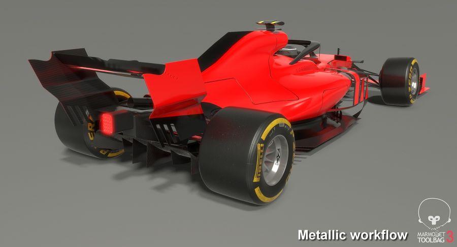 Formula 1 F1 2019 Concept royalty-free 3d model - Preview no. 19