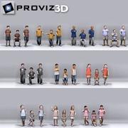 Pessoas 3D: Still Children Vol. 04 3d model