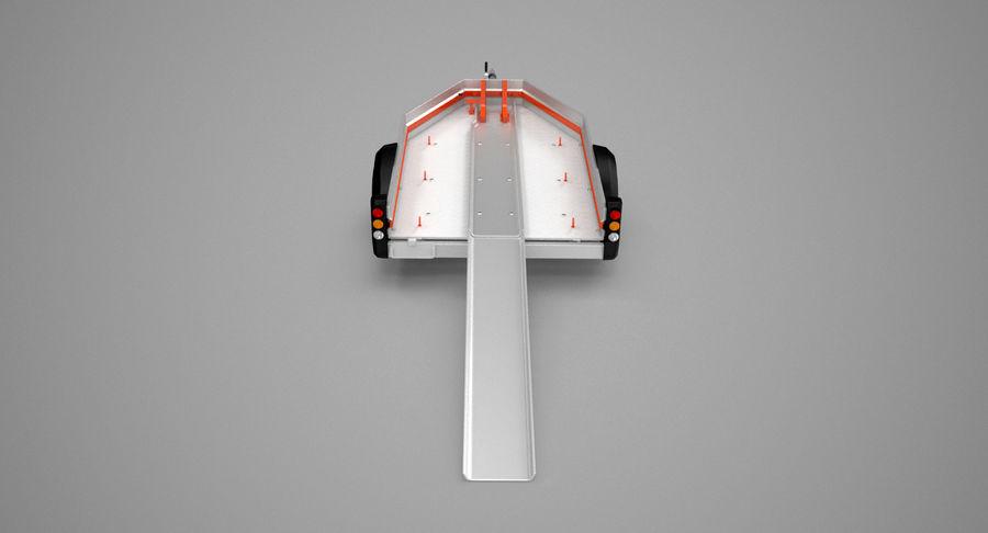摩托车拖车 royalty-free 3d model - Preview no. 7