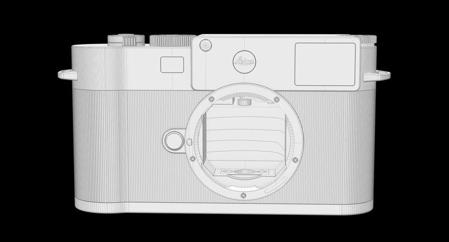 徕卡M10版Zagato royalty-free 3d model - Preview no. 17