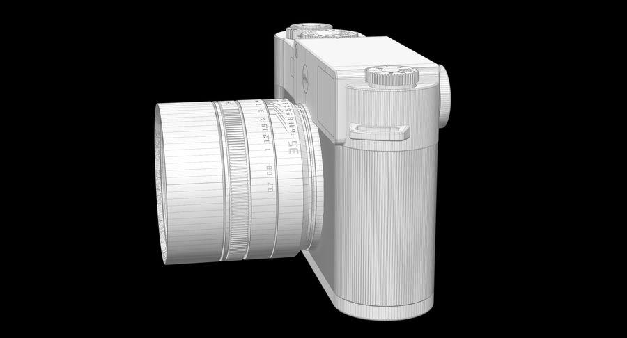 徕卡M10版Zagato royalty-free 3d model - Preview no. 11