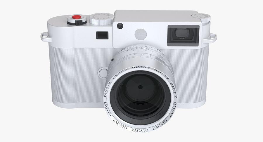 徕卡M10版Zagato royalty-free 3d model - Preview no. 8