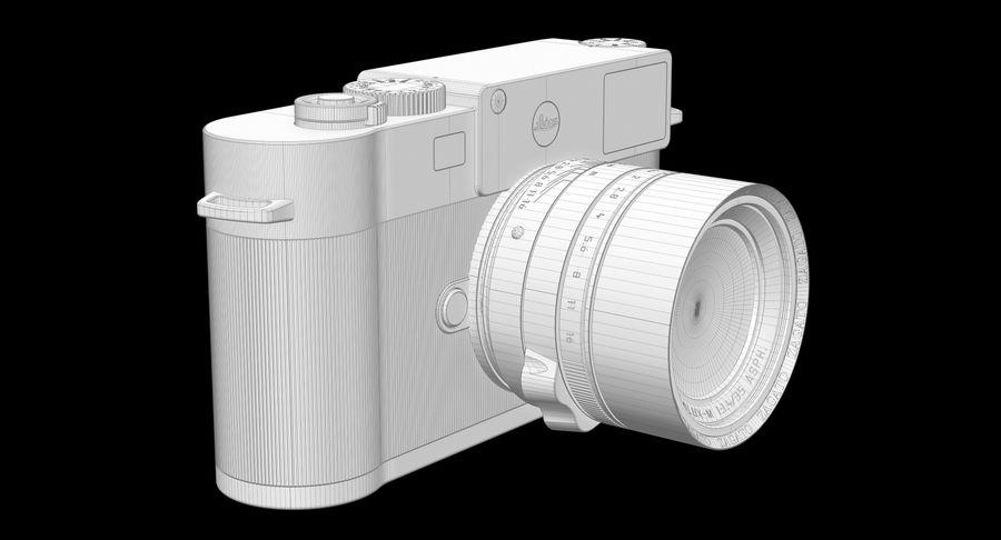 徕卡M10版Zagato royalty-free 3d model - Preview no. 14