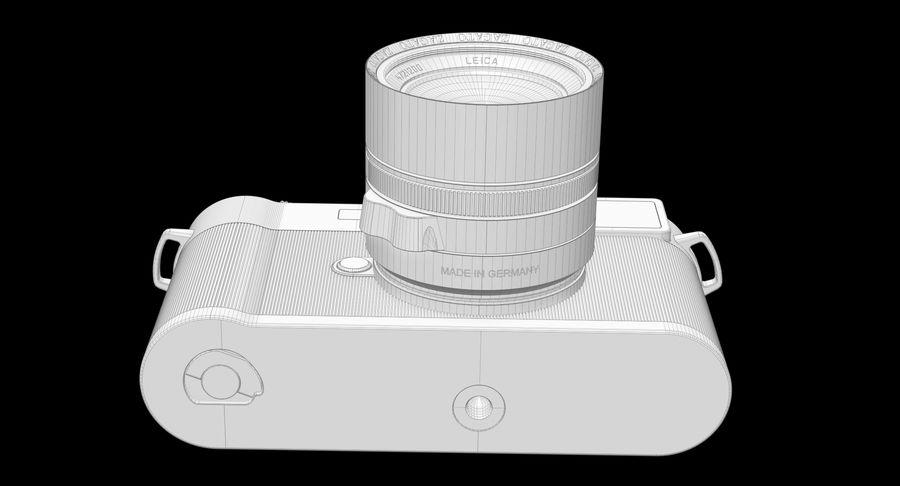 徕卡M10版Zagato royalty-free 3d model - Preview no. 16