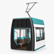 Tram Wagon 3d model