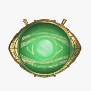 아가 모토의 눈 3d model