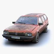 Volkswagen Passat Rusty 3d model