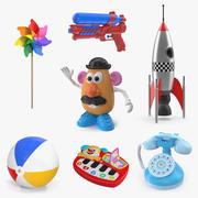Toys 3D Models Collection 2 3d model