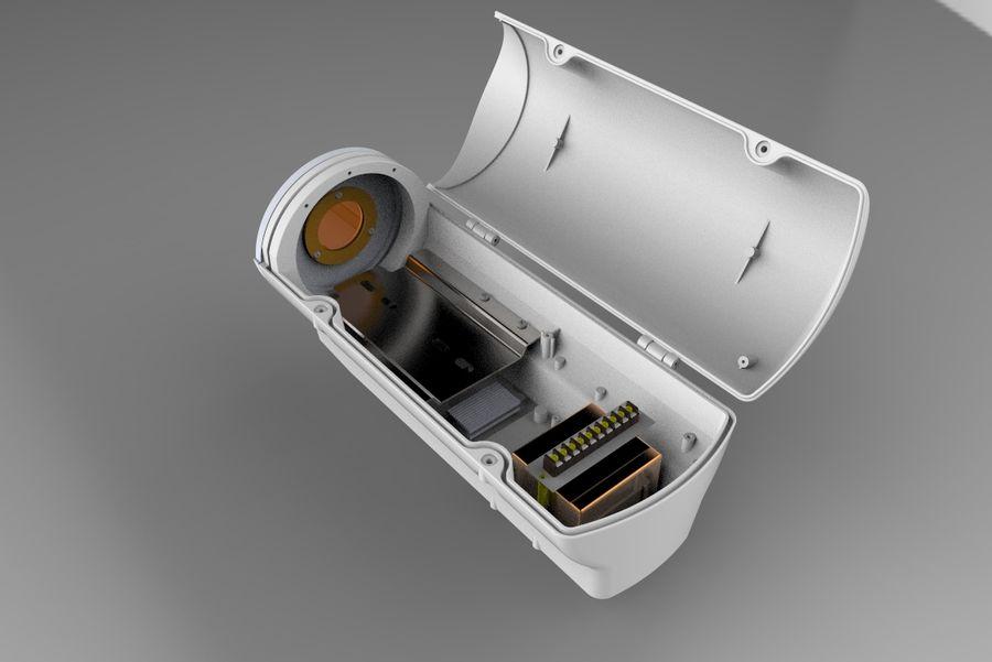 Transportation Security Camera Enclosure royalty-free 3d model - Preview no. 8