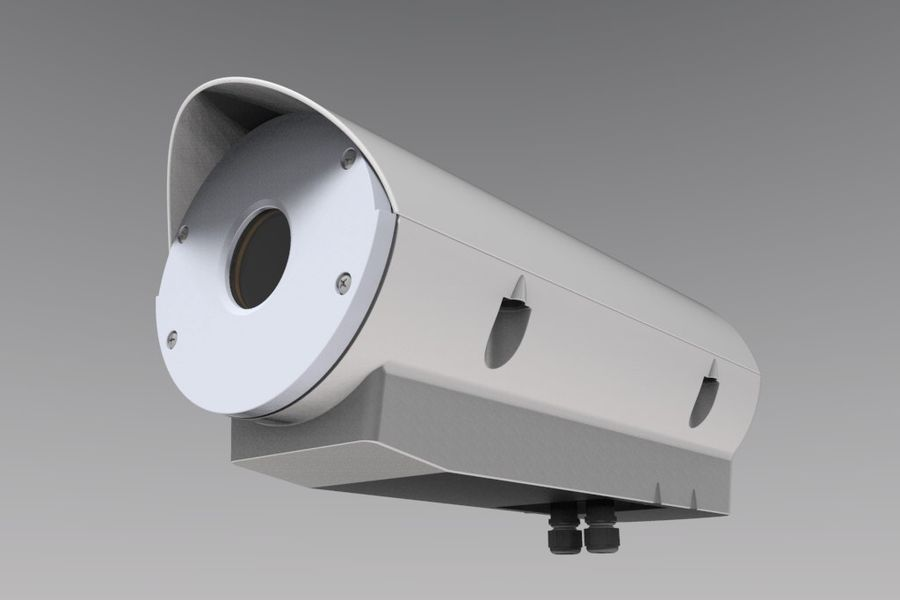 Transportation Security Camera Enclosure royalty-free 3d model - Preview no. 1