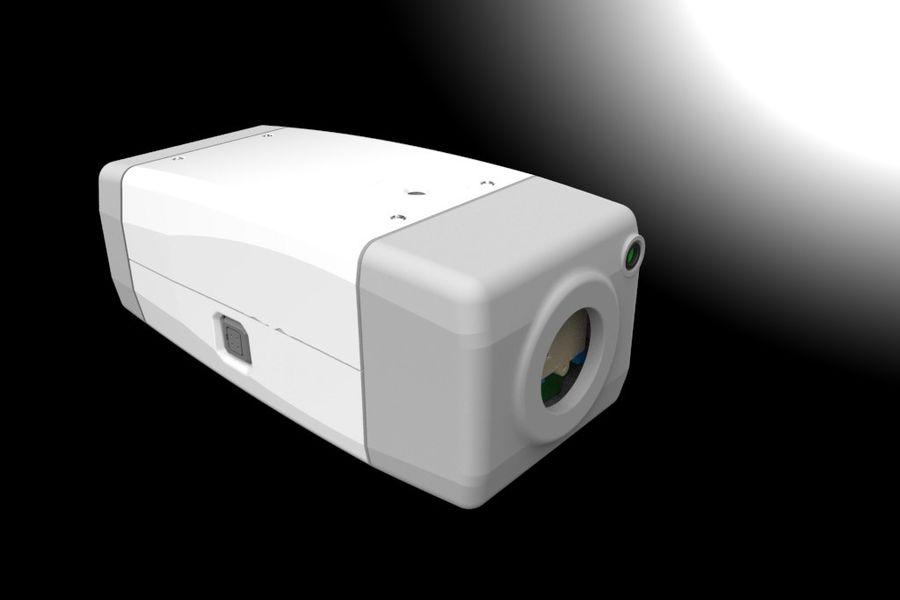 Transportation Security Camera Enclosure royalty-free 3d model - Preview no. 10