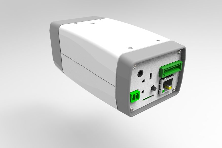 Transportation Security Camera Enclosure royalty-free 3d model - Preview no. 9