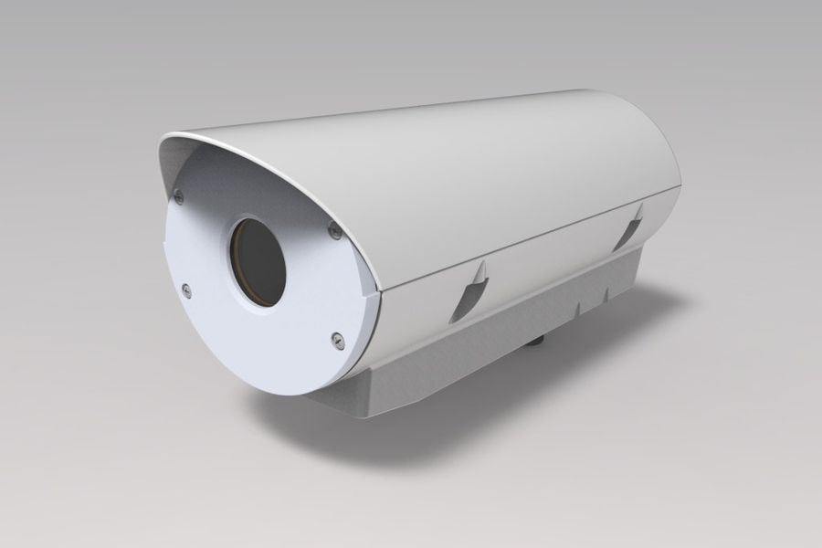 Transportation Security Camera Enclosure royalty-free 3d model - Preview no. 2