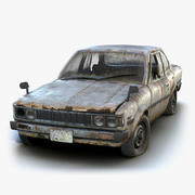 Toyota Corolla Rusty 3d model
