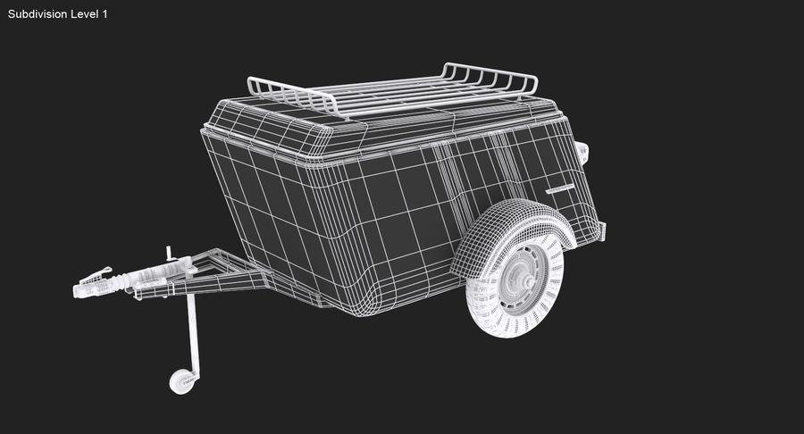 摩托车拖车 royalty-free 3d model - Preview no. 15