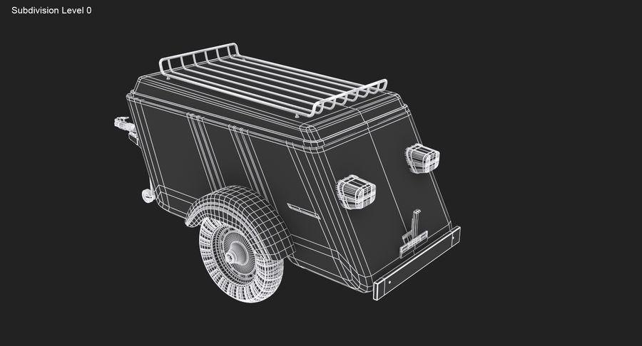 摩托车拖车 royalty-free 3d model - Preview no. 12