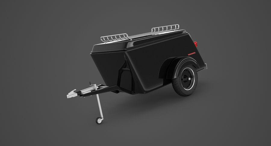 摩托车拖车 royalty-free 3d model - Preview no. 9