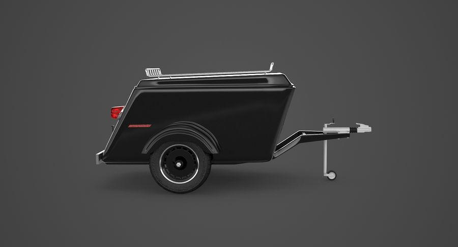 摩托车拖车 royalty-free 3d model - Preview no. 5