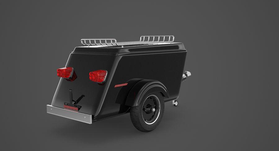 摩托车拖车 royalty-free 3d model - Preview no. 6