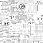 DragonSpeed BR Engineering BR1 LMP1 WEC Sezon 2018 2019 3d model