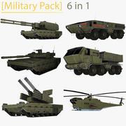 [Military Pack] 3d model