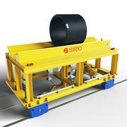 vagn industriell transport 3d model