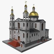 Himmelfahrt Kathedrale 3D zum ausdrucken 3d model