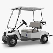 Carro de golf modelo 3d