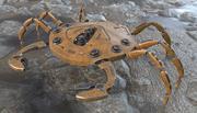 机器人蟹 3d model
